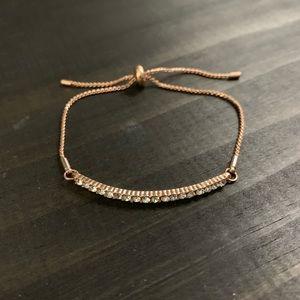 Charming Charlie rose gold bracelet